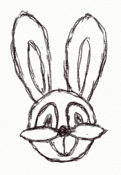 Drawn rabbit small Rabbit Dizzy «Dizzy Mind 26