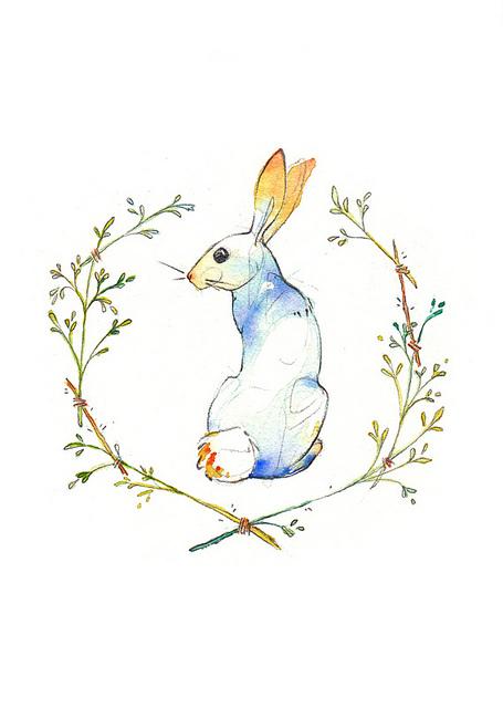 Drawn rabbit sweet bunny Its bunny Spring Spring bunny