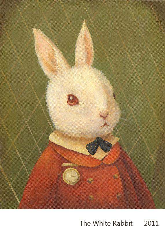 Drawn rabbit sweet bunny  Bunnies sweet & &