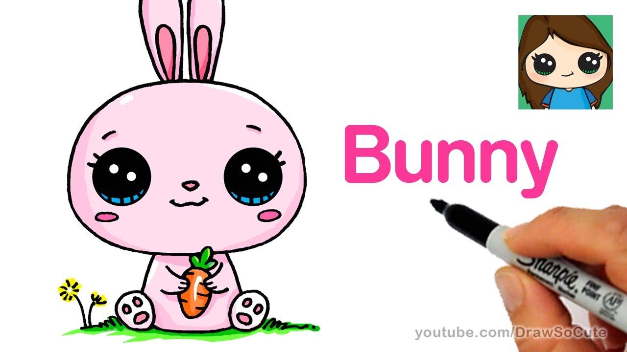 Drawn rabbid youtube easy cartoon Cartoon Rabbit Bunny a YouTube