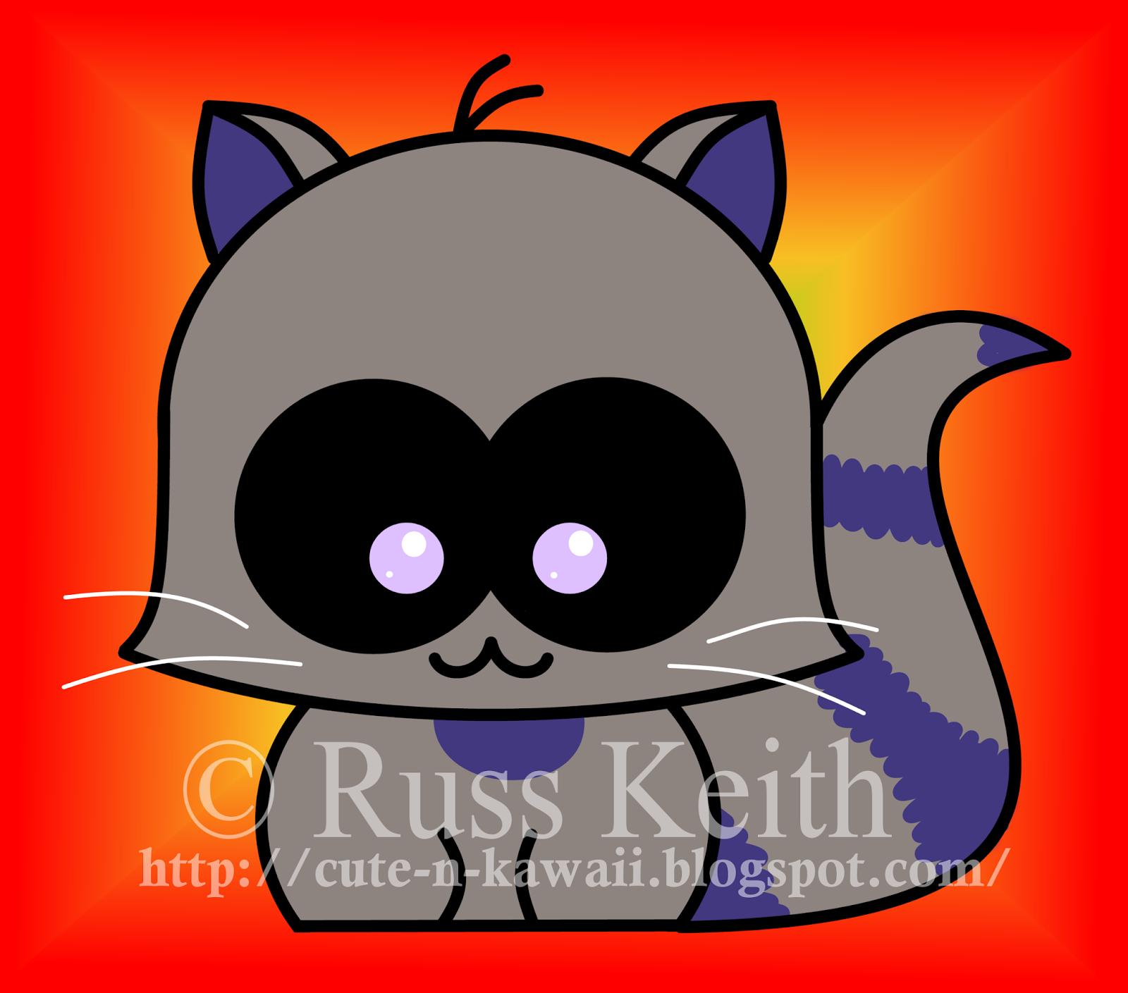 Drawn raccoon kawaii A N A Kawaii Kawaii: