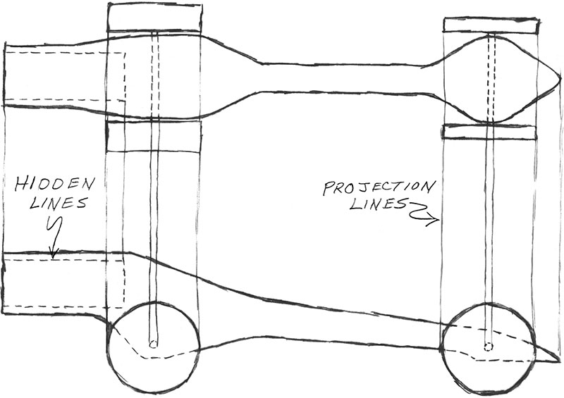 Drawn race car car design Designing Design Dragster Sketching a
