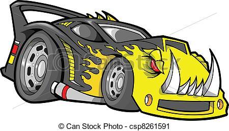 Race Car clipart vector  Hot Clip Vector Vector
