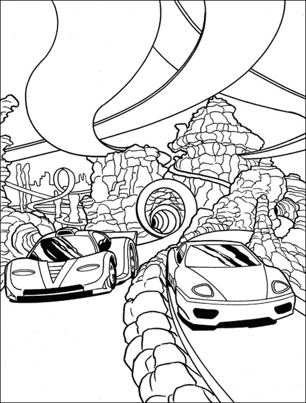 Drawn race car colouring page ColoringStar car coloring kids free