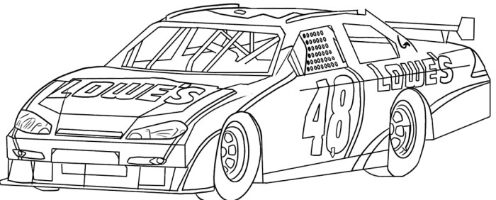 Drawn race car colouring page Page Car Race Pinterest Race