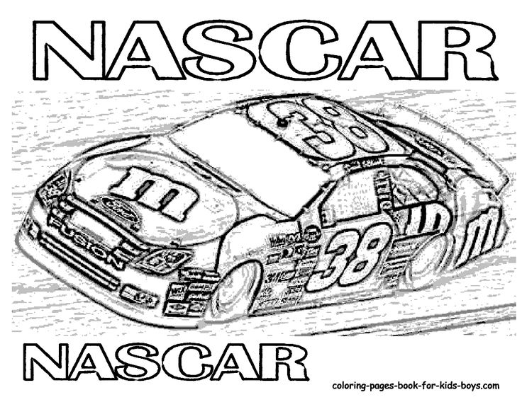 Drawn race car colouring page Migliori car coloring Pinterest su