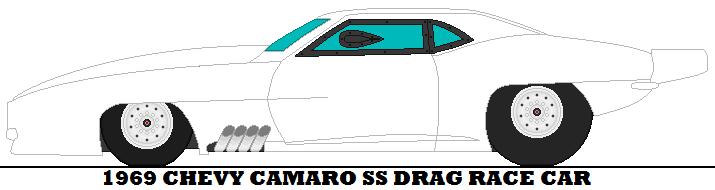 Drawn race car drag car Camaro by by mcspyder1 mcspyder1