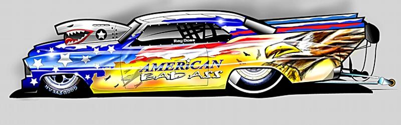 Drawn race car drag car Pat Cars PrevNext Race Bennett
