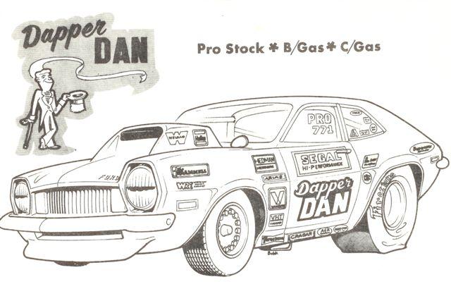 Drawn race car drag car BMStory