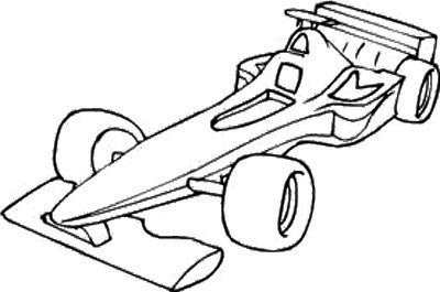 Drawn race car f1 car Race F1 Race Page Car