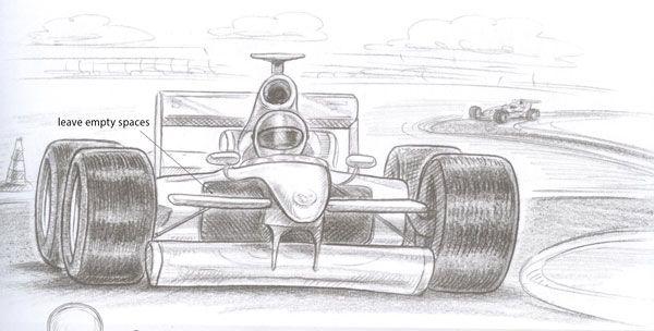 Drawn race car f1 car To Pinterest car a How