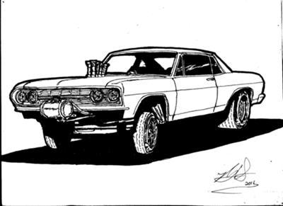 Drawn race car muscle car Racing  Drawings Car Drag