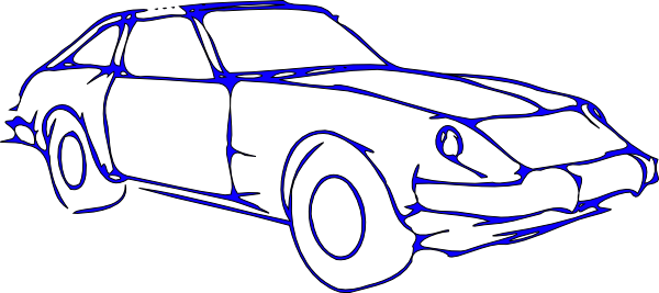 Drawn race car outline Zone Race Cliparts Car Vehicle