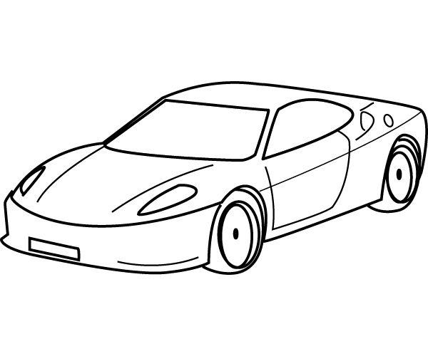Drawn race car simple 31 best Pinterest Widescreen Auto