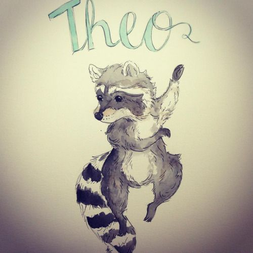 Drawn racoon baby raccoon Baby new best #cute raccoons