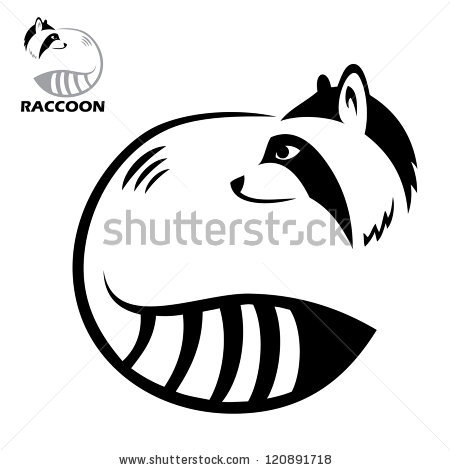 Drawn racoon black and white Search Search drawing drawing