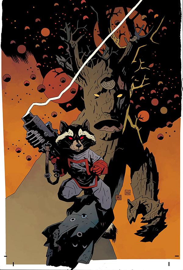 Drawn racoon comic Where Do Start? Raccoon: I