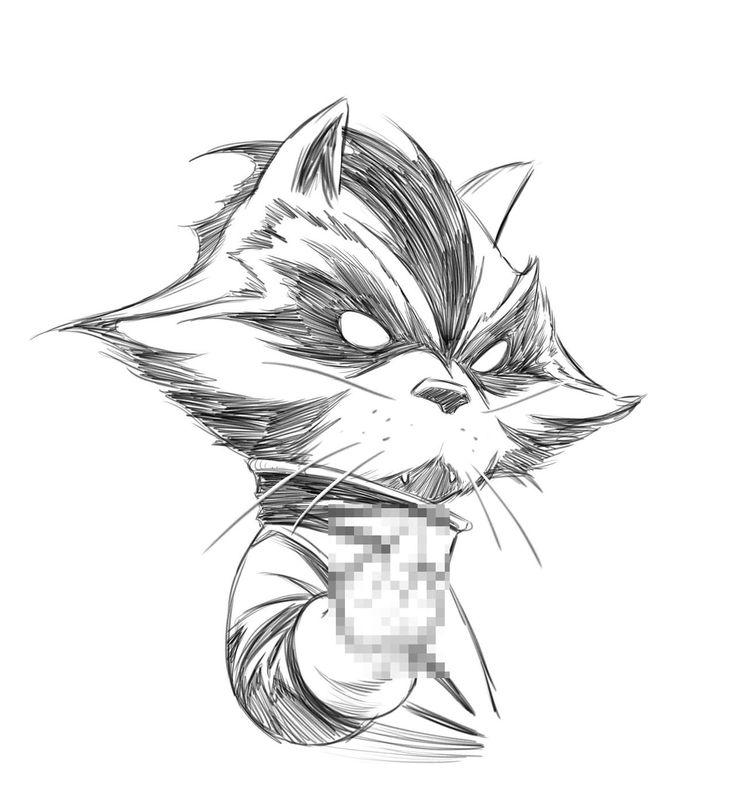 Drawn racoon comic The Joe Quesada best by