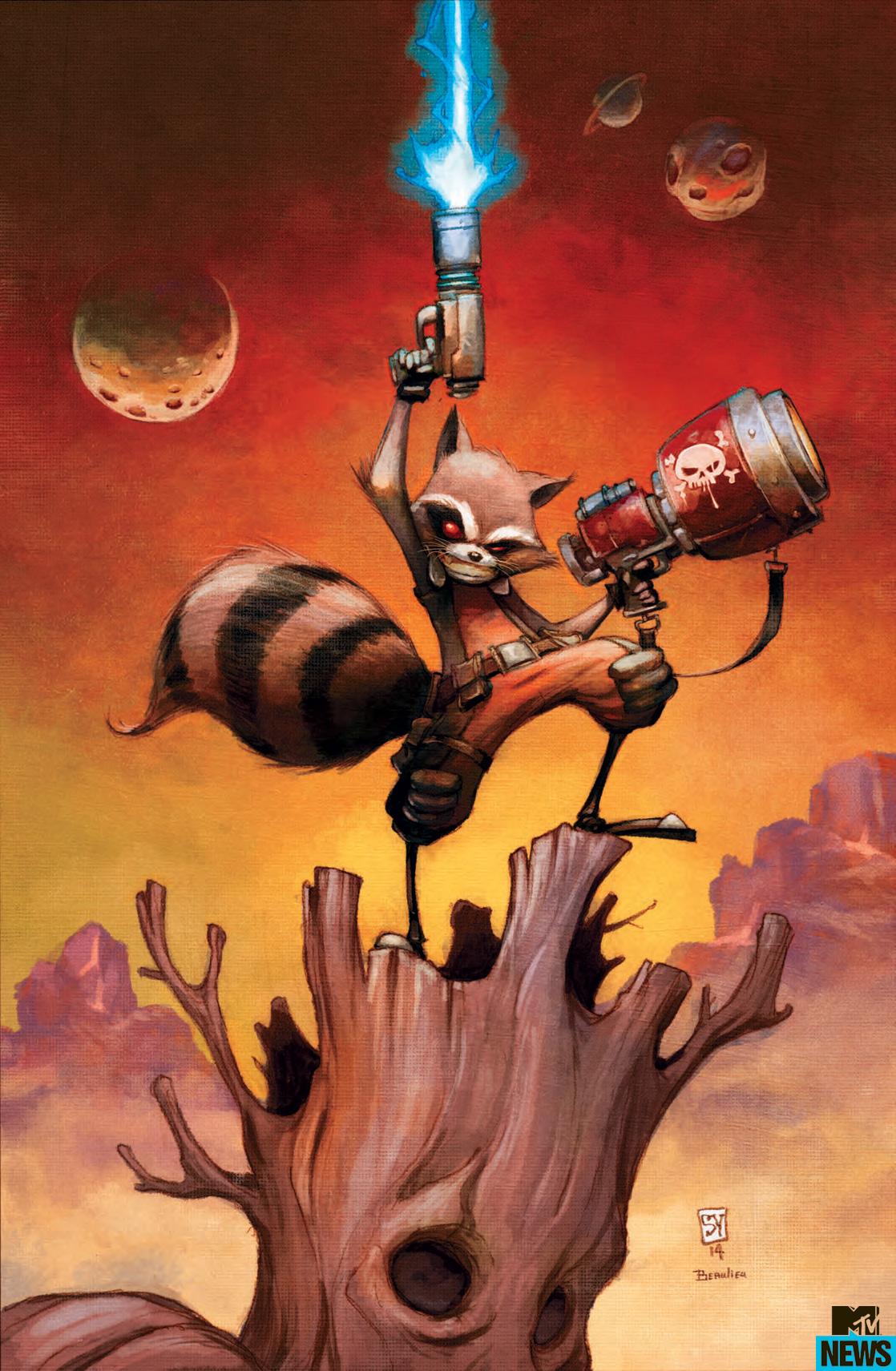 Drawn racoon comic Into Rocket Raccoon Off Exclusive: