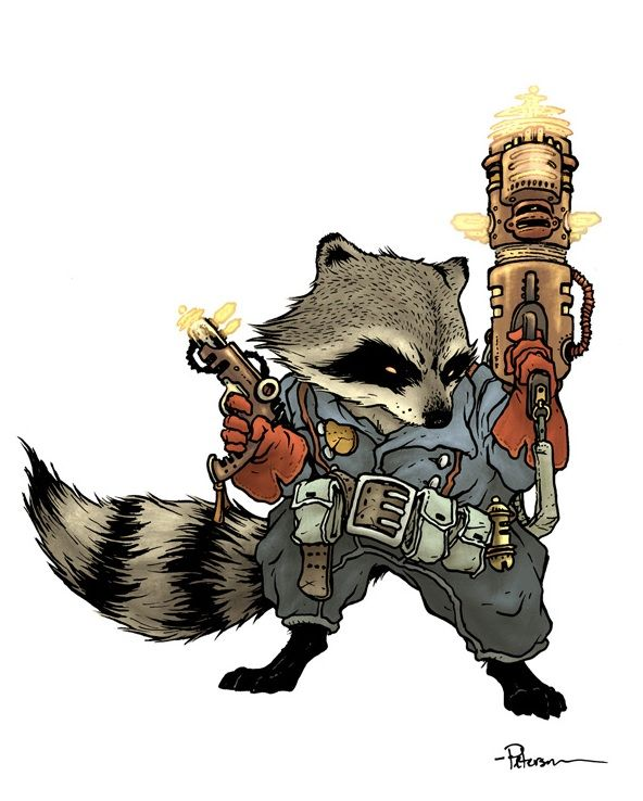 Drawn racoon comic Pinterest David Petersen best by