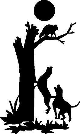 Drawn raccoon coon hunting Art Clipart Coon Coon Hunting