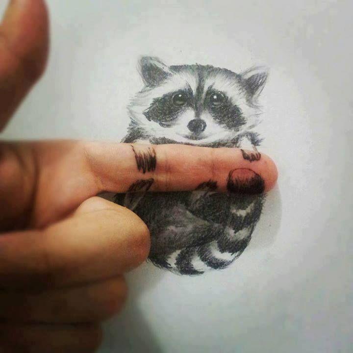 Drawn 3d art cute #8
