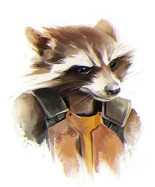 Drawn racoon guardians the galaxy More Find Rocket this Pinterest