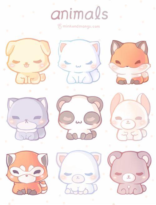 Drawn animl kawaii Have fox the on must