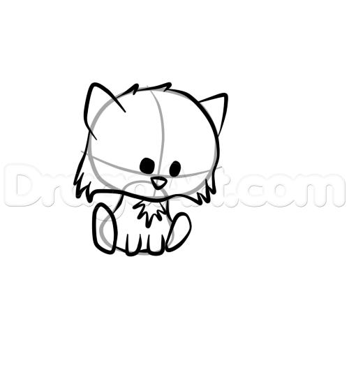 Drawn raccoon kawaii A 4  cute forest