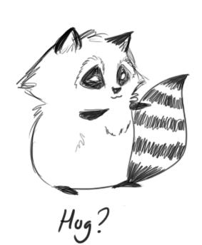 Drawn raccoon kawaii Raccoon DeviantArt by Raccoon by