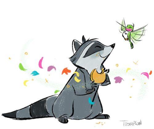 Drawn racoon meeko About Raccoon Find on on