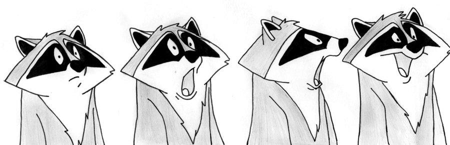 Drawn raccoon meeko 112 pocahontasmeeko by on pocahontasmeeko