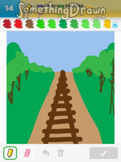 Drawn railroad On railroad SomethingDrawn com Something