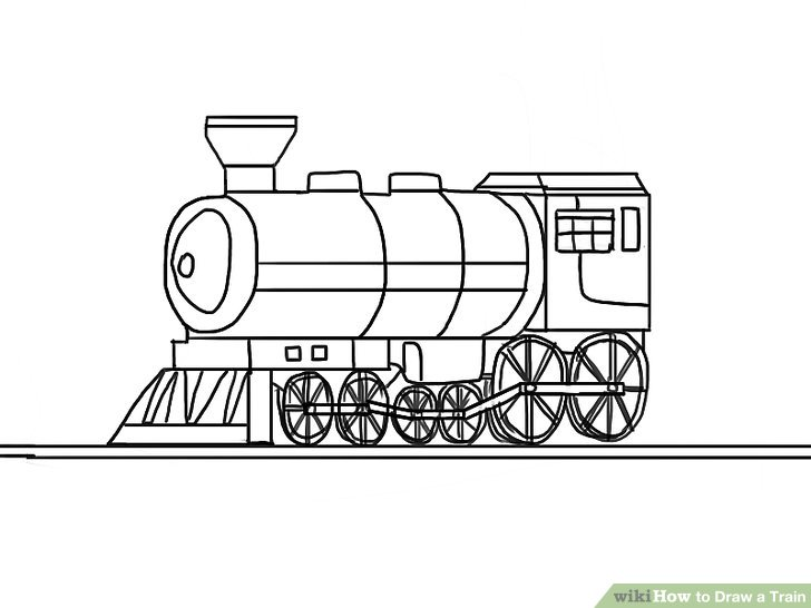 Drawn railroad 4 wikiHow Image a titled