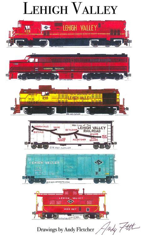 Drawn railroad andy fletcher Fletcher 270 on hand Train