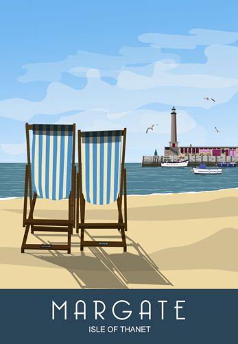 Drawn railroad beach Co beach posters Beach Pinterest