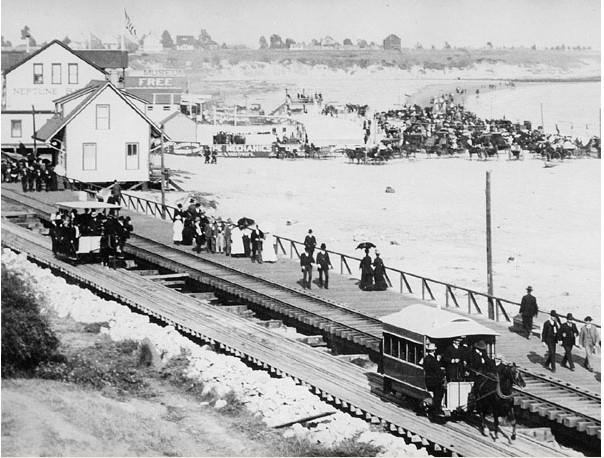 Drawn railroad beach Gauge Railroads c track Cruz