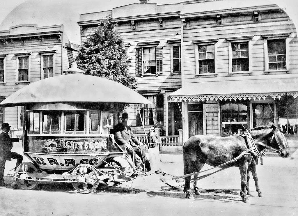 Drawn railroad beach Car Old San The Archives