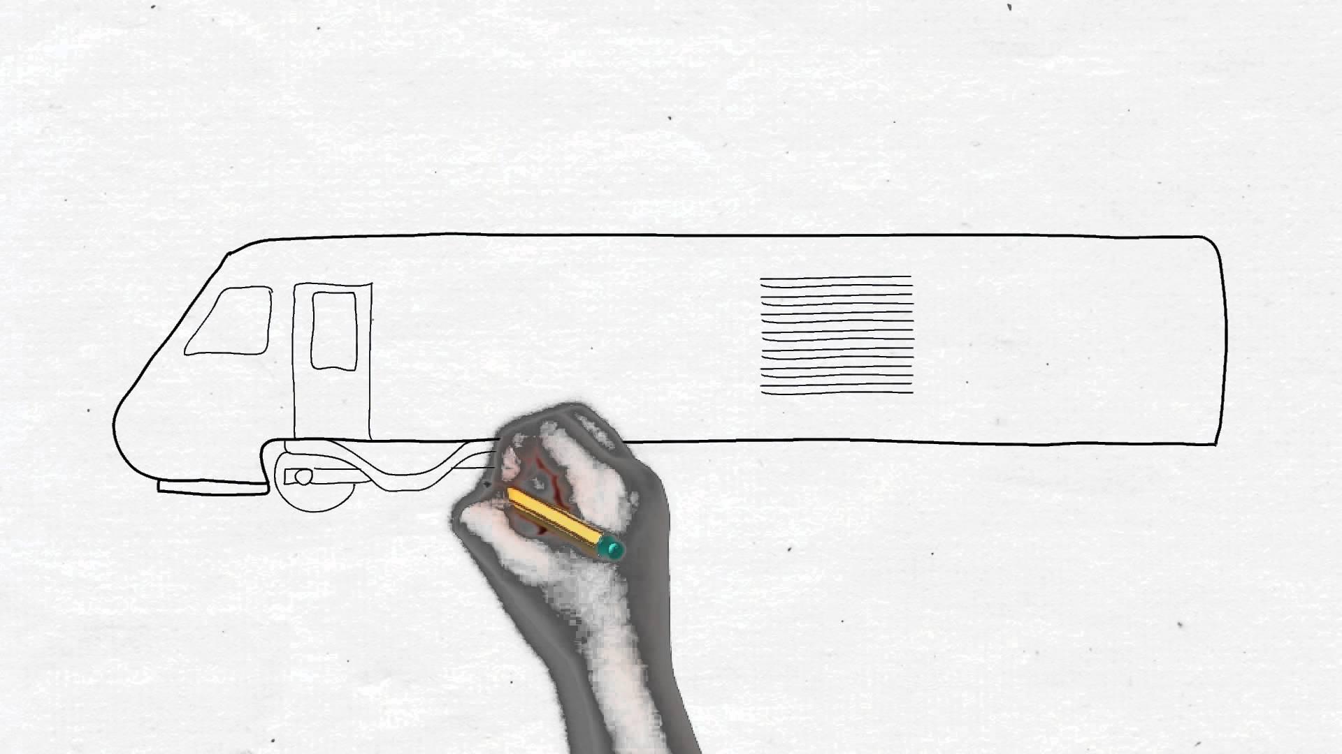 Drawn railroad bullat  drawing kids Drawing bullet