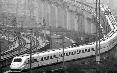 Drawn railroad bullat The at American his long