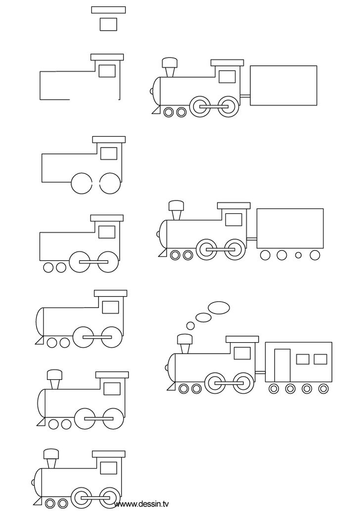 Drawn railroad children's Best to by of (Click
