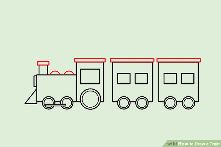 Drawn railroad color 13 Step a 4 wikiHow