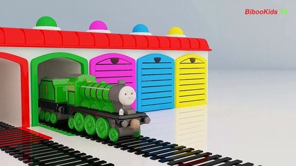 Drawn railroad color Thomas Colors With Drawn Coloring