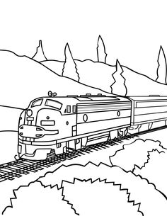 Drawn railroad color The Amazing connect Page book