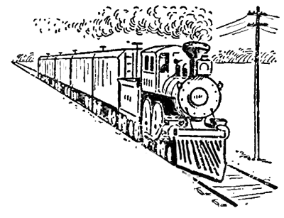 Drawn railroad cute Perspective  by Drawing Perspective