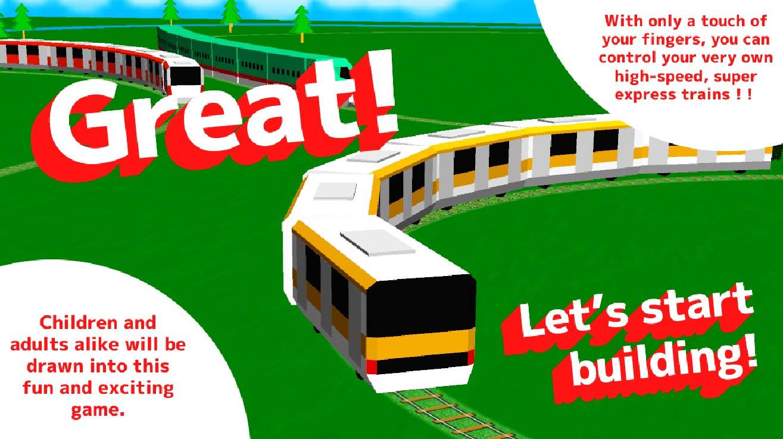 Drawn railroad cute Train Anak Api Game) Game