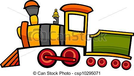 Drawn railroad cute Royalty Train Clip cartoon train