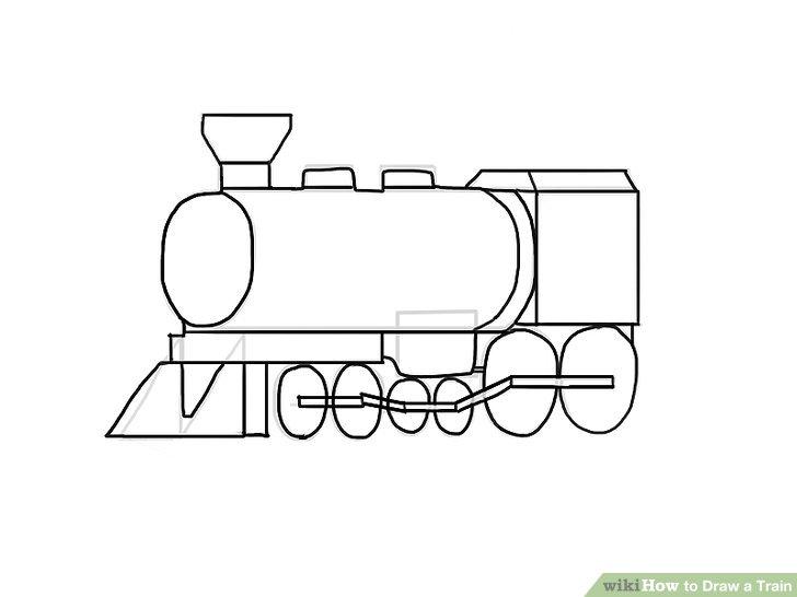 Drawn railroad draw WikiHow to Ways Draw Draw