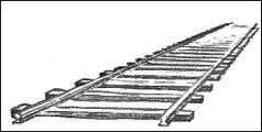 Drawn railroad draw Drawing Drawing Perspective Railway Tracks