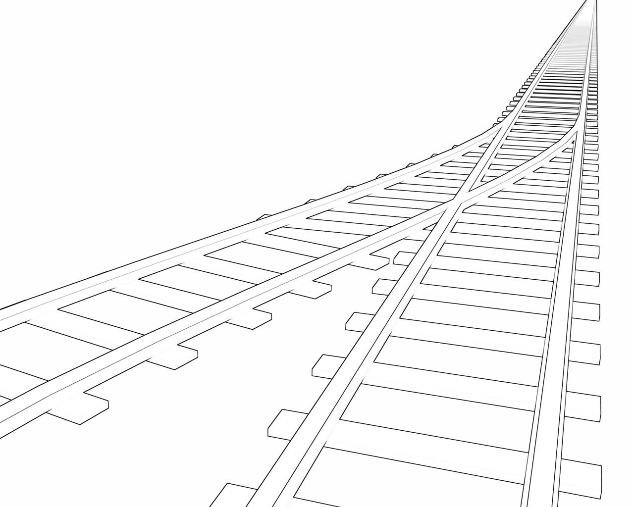 Drawn railroad draw Gallery railroad drawing line